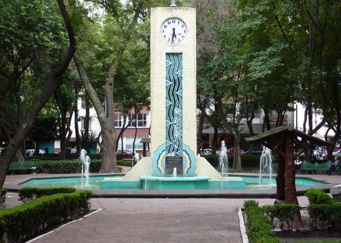 parque mexico y fuente