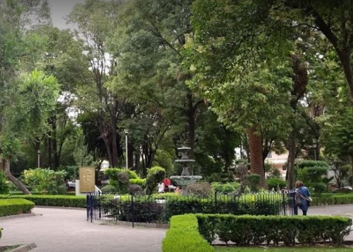 parque de la delegacion napoles