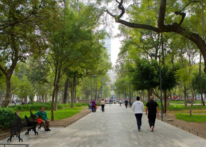 parque de la alameda central