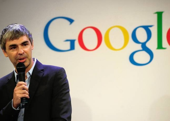 CEO de google en conferencia