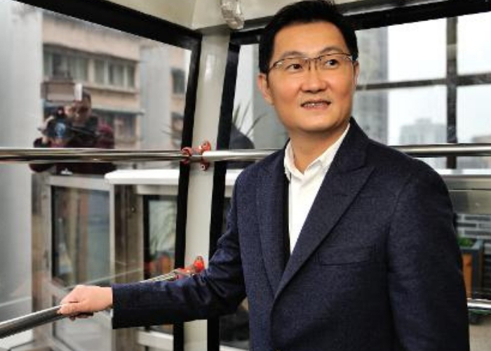 Ma Huateng de Tencent en entrevista