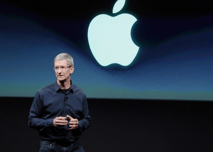 ceo de apple en conferencia
