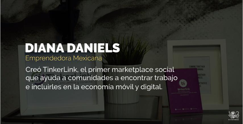 El Universal: Entrevista a Diana Daniels